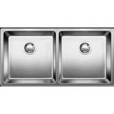 Мойка для кухни Blanco ANDANO 400/400-U нерж.сталь зеркальная полировка без клапана-автомата