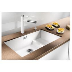 Кухонная мойка Blanco Subline 700-U Level Silgranit PuraDur (серый беж)