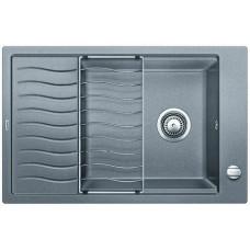 Мойка для кухни Blanco ELON XL 6 S SILGRANIT алюметаллик с клапаном-автоматом