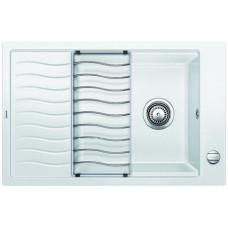 Мойка для кухни Blanco ELON XL 6 S SILGRANIT белый с клапаном-автоматом