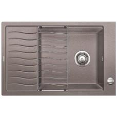 Мойка для кухни Blanco ELON XL 6 S SILGRANIT серый беж с клапаном-автоматом