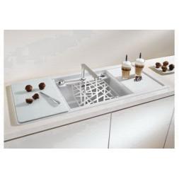 Кухонная мойка Blanco Alaros 6 S Silgranit PuraDur (темная скала)