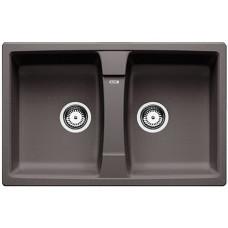 Кухонная мойка Blanco Lexa 8 Silgranit PuraDur (темная скала)