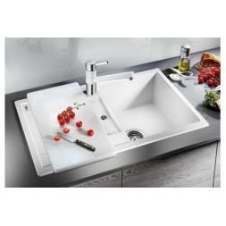 Кухонная мойка Blanco Metra 45S Silgranit PuraDur (темная скала)