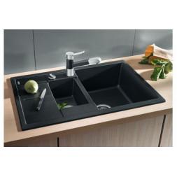 Кухонная мойка Blanco Metra 6 S Compact Silgranit PuraDur (темная скала)