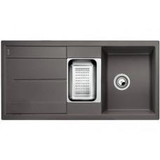 Мойка для кухни Blanco METRA 6 S SILGRANIT темная скала с клапаном-автоматом