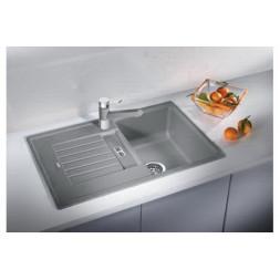 Кухонная мойка Blanco Zia 45S Silgranit PuraDur (темная скала)