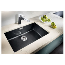 Кухонная мойка Blanco Subline 700-U Silgranit PuraDur (темная скала)