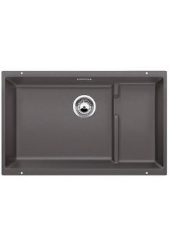 Кухонная мойка Blanco Subline 700-U Level Silgranit PuraDur (темная скала)