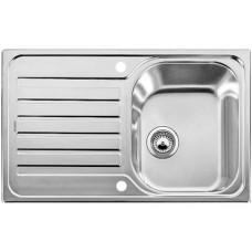 Мойка для кухни Blanco LANTOS 45 S-IF Compact нерж. сталь, с клапаном-автоматом