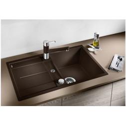 Кухонная мойка Blanco Metra 45S-F Silgranit PuraDur (антрацит)