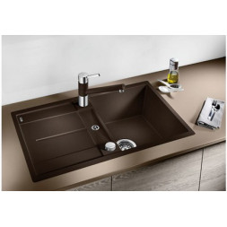 Кухонная мойка Blanco Metra 45S-F Silgranit PuraDur (алюметаллик)