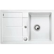 Мойка для кухни Blanco METRA 45 S-F белый с клапаном-автоматом
