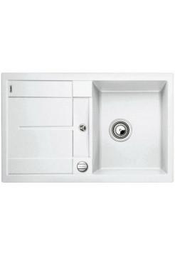 Кухонная мойка Blanco Metra 45S-F Silgranit PuraDur (белый)