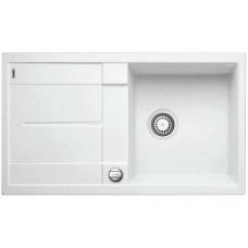 Мойка для кухни Blanco METRA 5 S-F белый с клапаном-автоматом