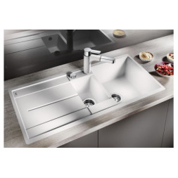 Кухонная мойка Blanco Metra 6 S-F Silgranit PuraDur (алюметаллик)