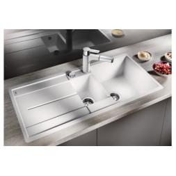 Кухонная мойка Blanco Metra 6 S-F Silgranit PuraDur (белый)