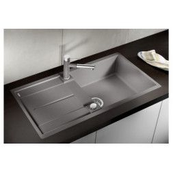 Кухонная мойка Blanco Metra Xl 6 S-F Silgranit PuraDur (алюметаллик)