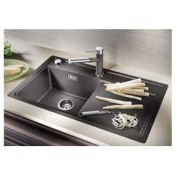 Кухонная мойка Blanco Zenar 45S-F Silgranit PuraDur (белый)