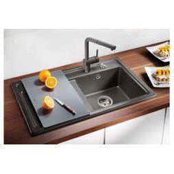 Кухонная мойка Blanco Zenar 45S Silgranit PuraDur (антрацит)
