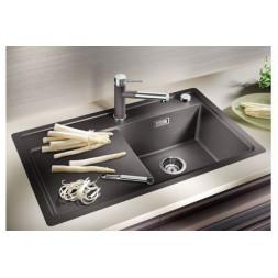 Кухонная мойка Blanco Zenar 45S-F Silgranit PuraDur (жасмин)