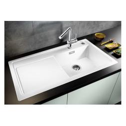 Кухонная мойка Blanco Zenar Xl 6 S-F Silgranit PuraDur (белый)
