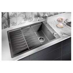 Кухонная мойка Blanco Elon Xl 6 S-F Silgranit PuraDur (антрацит)