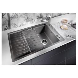 Кухонная мойка Blanco Elon Xl 6 S-F Silgranit PuraDur (алюметаллик)