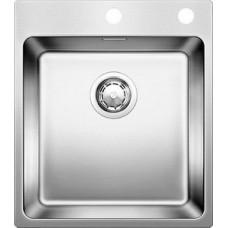Мойка для кухни Blanco ANDANO 400-IF A нерж. сталь зеркальная полировка с клапаном-автоматом