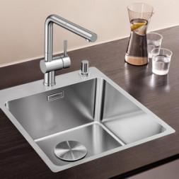 Кухонная мойка Blanco Andano 400-If/A Нержавеющая сталь (сталь с зеркальной полировкой)
