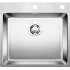 Мойка для кухни Blanco ANDANO 500-IF A нерж. сталь зеркальная полировка с клапаном-автоматом