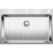 Мойка для кухни Blanco ANDANO 700-IF A нерж. сталь зеркальная полировка с клапаном-автоматом