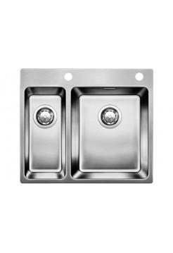 Кухонная мойка Blanco Andano 340/180-If/A Нержавеющая сталь (сталь с зеркальной полировкой)
