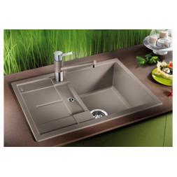 Кухонная мойка Blanco Metra 45S Compact Silgranit PuraDur (темная скала)