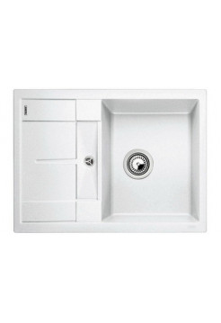 Кухонная мойка Blanco Metra 45S Compact Silgranit PuraDur (белый)