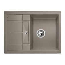 Кухонная мойка Blanco Metra 45S Compact Silgranit PuraDur (серый беж)