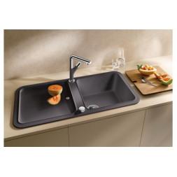 Кухонная мойка Blanco Yova Xl 6 S Silgranit PuraDur (антрацит)