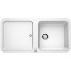 Мойка для кухни Blanco YOVA XL 6 S SILGRANIT белый с клапаном-автоматом