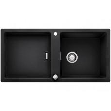 Мойка для кухни Blanco ADON XL 6 S SILGRANIT антрацит с клапаном-автоматом