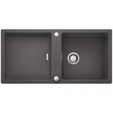 Мойка для кухни Blanco ADON XL 6 S SILGRANIT темная скала с клапаном-автоматом