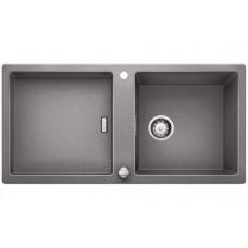 Кухонная мойка Blanco Adon Xl 6 S Silgranit PuraDur (алюметаллик)
