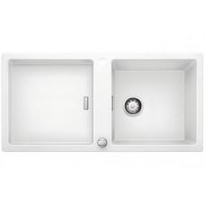 Мойка для кухни Blanco ADON XL 6 S SILGRANIT белый с клапаном-автоматом