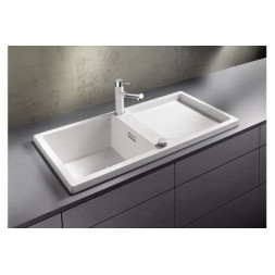 Кухонная мойка Blanco Adon Xl 6 S Silgranit PuraDur (белый)