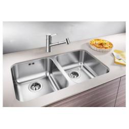 Кухонная мойка Blanco Supra 340/340-U Нержавеющая сталь (сталь полированная)