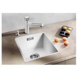 Кухонная мойка Blanco Subline 320- F Silgranit PuraDur (белый)