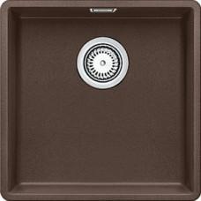 Мойка для кухни Blanco SUBLINE 400-F кофе, с клапаном-автоматом