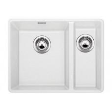Кухонная мойка Blanco Subline 340/160-F Silgranit PuraDur (белый)