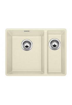 Кухонная мойка Blanco Subline 340/160-F Silgranit PuraDur (жасмин)