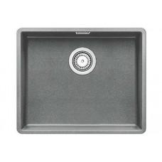 Мойка для кухни Blanco SUBLINE 500-F алюметаллик, с клапаном-автоматом