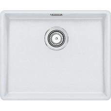 Мойка для кухни Blanco SUBLINE 500-F белый с клапаном-автоматом